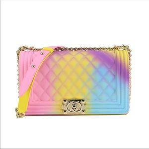Handbags - Tie dye jelly bag